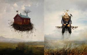 الصور من اهداء الفنان.