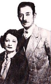 المناضل احسان نوري باشا وزوجته ياشار خانم
