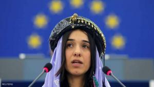 الناشطة الكردية الايزيدية نادية مراد