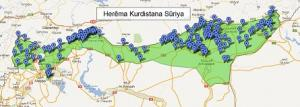 خريطة مستقبلية لإقليم كرد سوريا